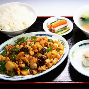 鶏肉の唐辛子炒めセット
