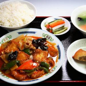 揚げ豆腐の煮込みセット