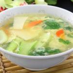 玉子入りスープ