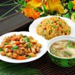五目炒飯+鶏肉とカシューナッツ炒めセット