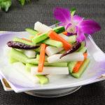色々野菜の甘酢漬け