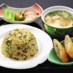 高菜炒飯+ワンタンセット