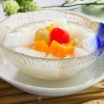 さっぱりとした 杏仁豆腐