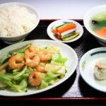 海老と野菜炒めセット