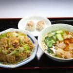 レタス入り炒飯+ワンタンセット